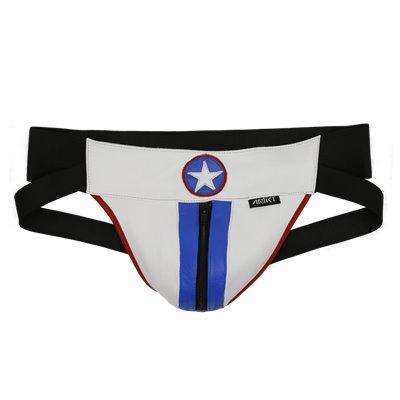 Addikt American Hero Leather Jockstrap Zip